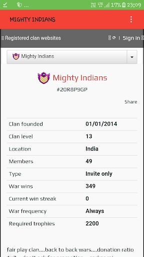 Mighty indians clan clash of clans COC  screenshots 1