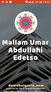 Download Mallam Umar Abdullahi Edetso dawahBox For PC Windows and Mac apk screenshot 1