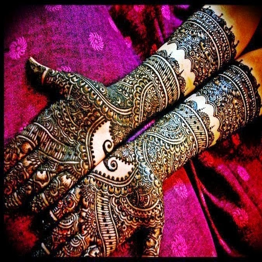New Indian Mehndi Henna Design