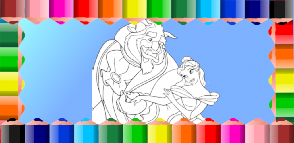 Descargar Libro de colorear de la bella y la bestia 1.0.1 Apk - com ...
