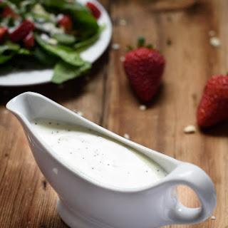 5 Ingredient Yogurt Poppy Seed Dressing