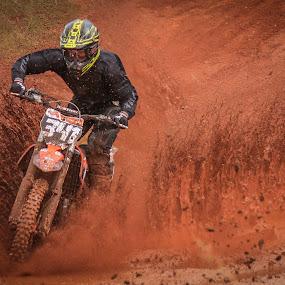 Motocross by Dirk Luus - Sports & Fitness Motorsports ( rider, mud, motocross, motorbike, motorcycle, dirt, motorsport,  )