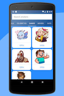 Stickers for Telegram app