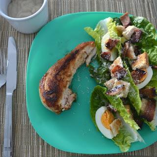Family Friendly Chicken Caesar Salad