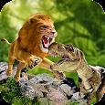 Ultimate Lion vs Dinosaur: Wild Adventure