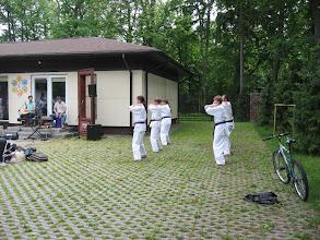 Photo: Karatistų pasirodymas