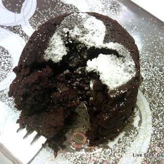 Cinnamon Dark Chocolate Molten Lava Cakes