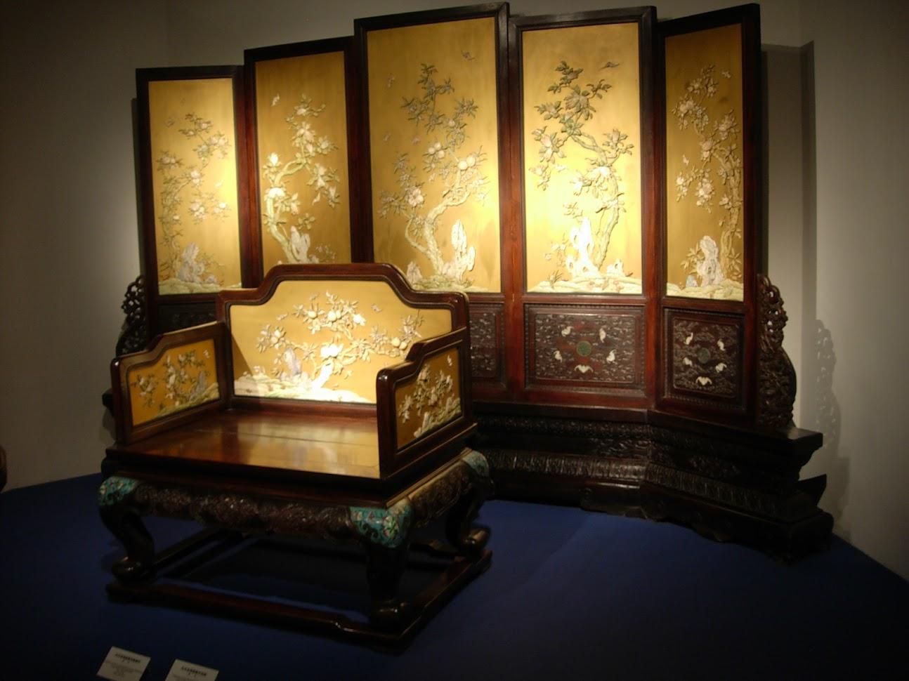 Mobilier Chinois au Musée de Shanghai