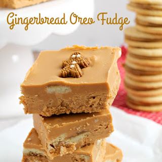 Gingerbread Oreo Fudge