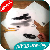300+ DIY 3D Drawing Design Ideas