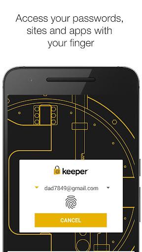 Keeper: Free Password Manager & Secure Vault Screenshot