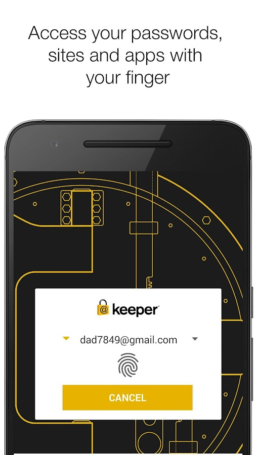 Keeper: Free Password Manager & Secure Vault- screenshot