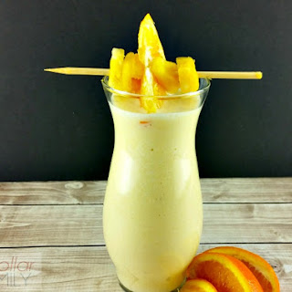 Pineapple Breakfast Smoothies Recipes.