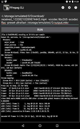 FFmpeg CLI by Magic Len (Google Play, United States) - SearchMan App