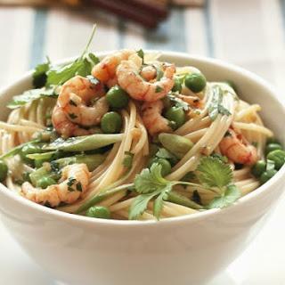 Ginger Shrimp and Pasta Bowl