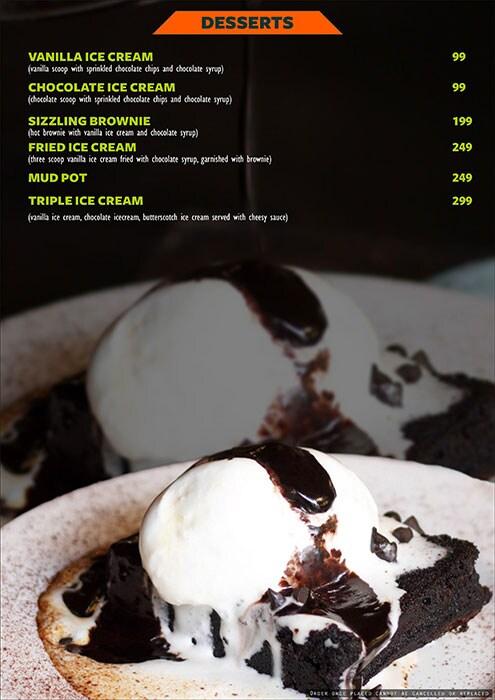 The Fusion Cuzine menu 10