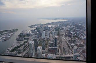 Photo: View from the CN Tower