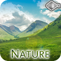 Nature relaxing music icon