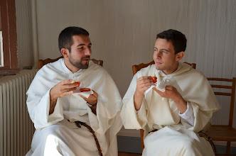 Photo: Ffr. Clément a David, kteří jsou v Toulouse noví.