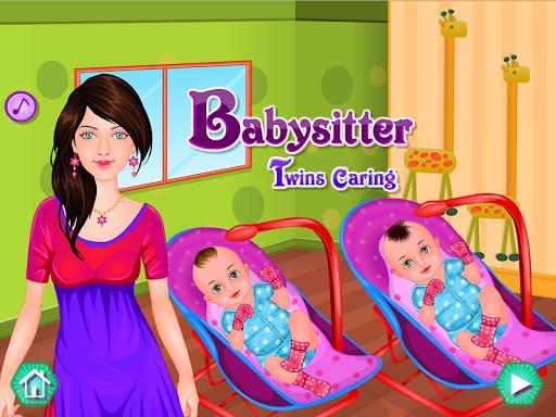 雙胞胎嬰兒護理遊戲