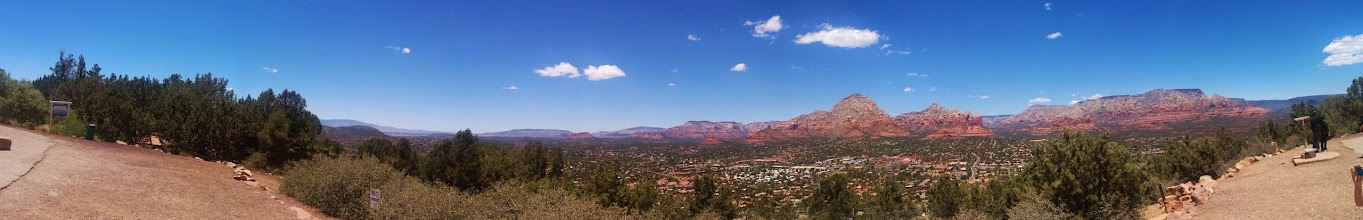 Photo: A view of Sedona