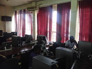 Photo: Student developers