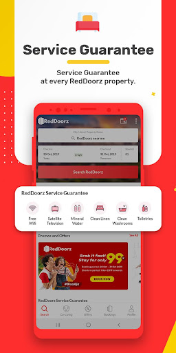 RedDoorz u2013 Hotel Booking App screenshots 3