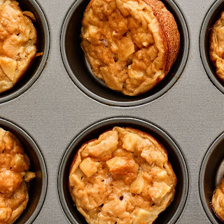 Sweet Potato Peanut Butter Egg Muffins.