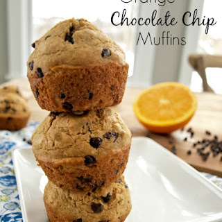 Orange Chocolate Chip Muffins Healthy Recipes