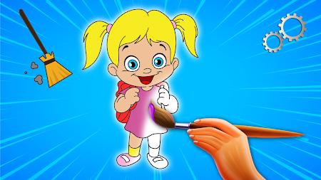 Coloring Book For Girls APK Screenshot Thumbnail 2