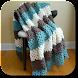 かぎ針編みの毛布