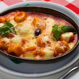 Gnocchi and Tomato Bake.