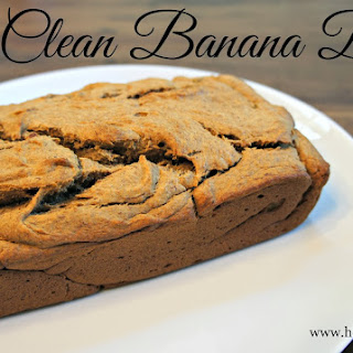 Eat Clean Banana Bread Recipe