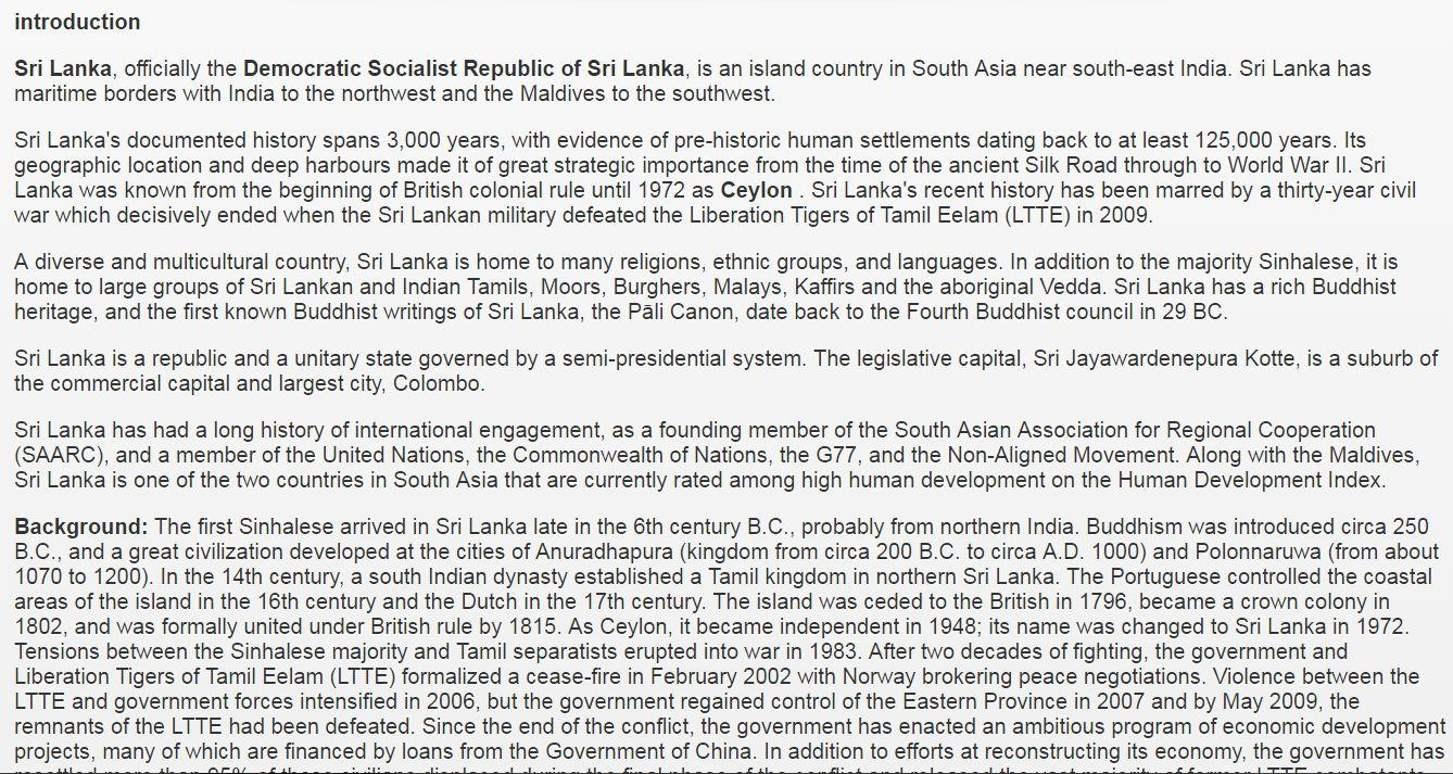 sri lanka general knowledge android apps on google play sri lanka general knowledge screenshot