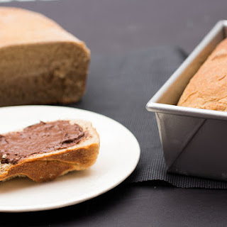 Honey Whole Wheat Bread Loaf.