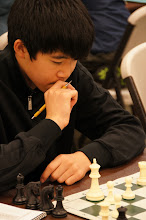 Photo: Jonathan Yau at a critical point in his first round game in the Super Stars B section.