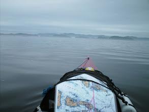 Photo: Crossing Ripple Passage to the Millar Islands.