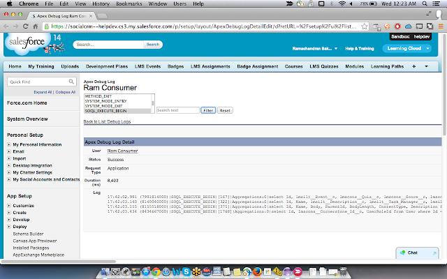 Salesforce Debug Logs Analyzer
