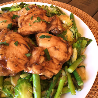 Balsamic Roasted Chicken.