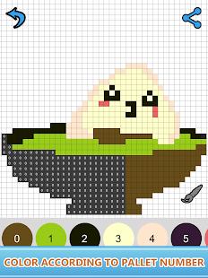 sandbox number coloring book art color by number apps on google play. Black Bedroom Furniture Sets. Home Design Ideas
