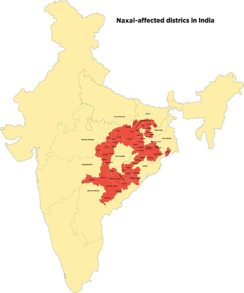 Fresh development plan for naxal-affected districts
