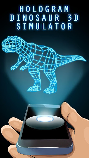 Hologram Dinosaur 3D Simulator for PC