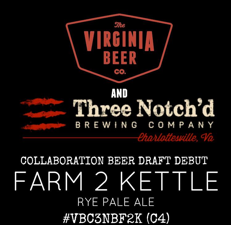 Logo of Virginia Beer Co. / Three Notch'd Brewing Co. Farm 2 Kettle Rye Pale Ale