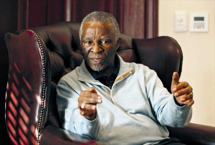 Thabo Mbeki. Picture: SUNDAY TIMES
