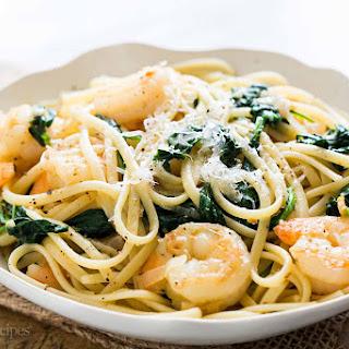 Spinach Linguine With Shrimp Recipes