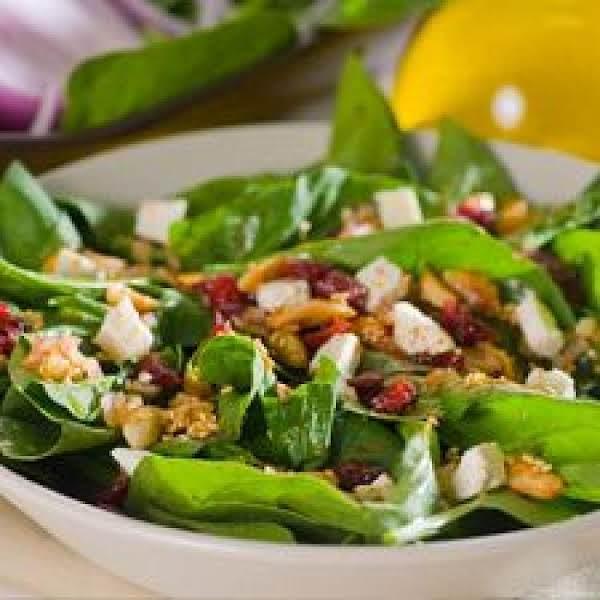 Presto Spinach Salad