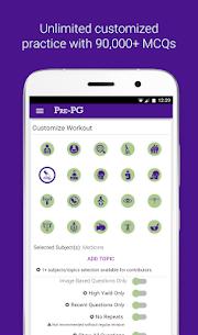 Pre-PG Prep: NEET PG AIIMS FMGE PGI – MCQs, Tests 1.0.135 Unlocked MOD APK Android 3