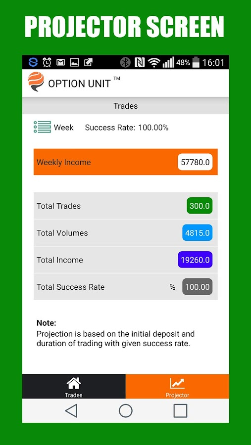 Binary Portfolio Manager- screenshot