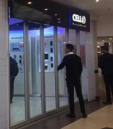 Cell-C was in Cleary Park Shopping Centre was robbed