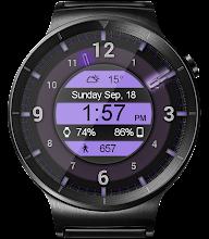Galaxy Glow HD Watch Face Widget & Live Wallpaper screenshot thumbnail